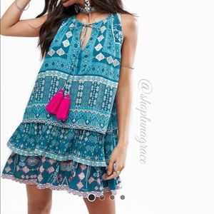 Island Stories Turquoise Dress